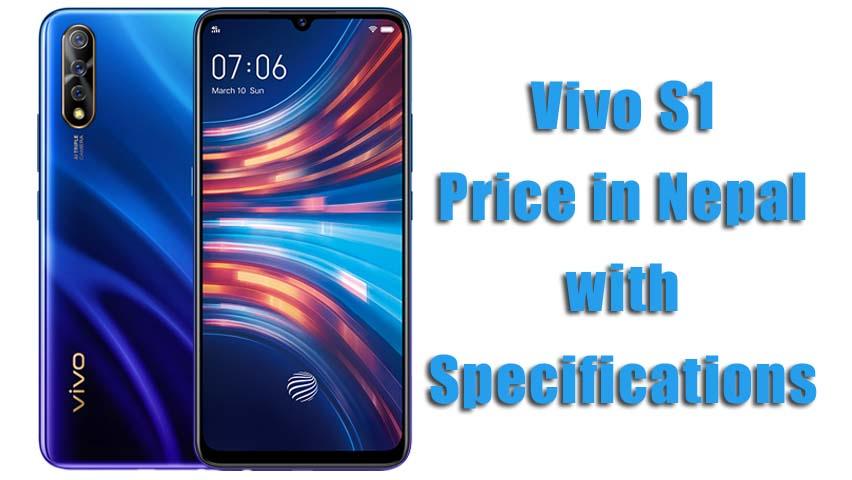 Vivo S1 Price in Nepal